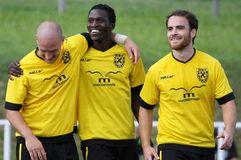 Der Deutsche Fußball-Bund (DFB) hat Tipps für die Integration von Flüchtlingen in Vereine erstellt. Foto: Pressefoto Baumann
