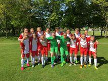 U14-Juniorinnen beim DFB-Sichtungsturnier in Duisburg-Wedau, Foto: privat
