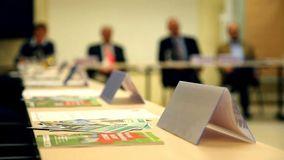 Sitzung des BFV-Wirtschaftsrates. Foto: BFV.