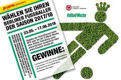 Lotto FuWo BFV Fußballer der Saion 2017/18 Gewinner