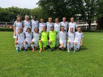 Mit sechs DFB-Sichtungen kehrten Berlins U14-Juniorinnen aus Duisburg nach Hause, Foto: privat