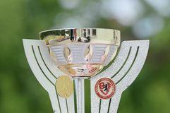 Auslosung des Viertelfinales im Polytan-Pokal der 7er Frauen. Foto: sr pictures Sandra Ritschel.