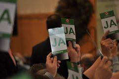 Wahlergebnisse des BFV-Verbandstages Foto: Franziska Rein