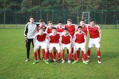 U15-Junioren beim internationalen Turnier in Lindow. Foto: BFV.