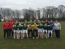 U16-Juniorinnen des BFV beim DFB-Länderpokal in Duisburg, Foto: privat