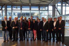 Der BFV-Wirtschaftsrat bei seiner ersten Sitzung im Jahr 2015 in der Daimler AG Niederlassung. Foto: Vera Krings.