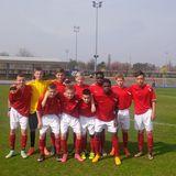 3:1 Erfolg im ersten von zwei Testspielen gegen die U14-Junioren aus Thüringen. Foto: privat