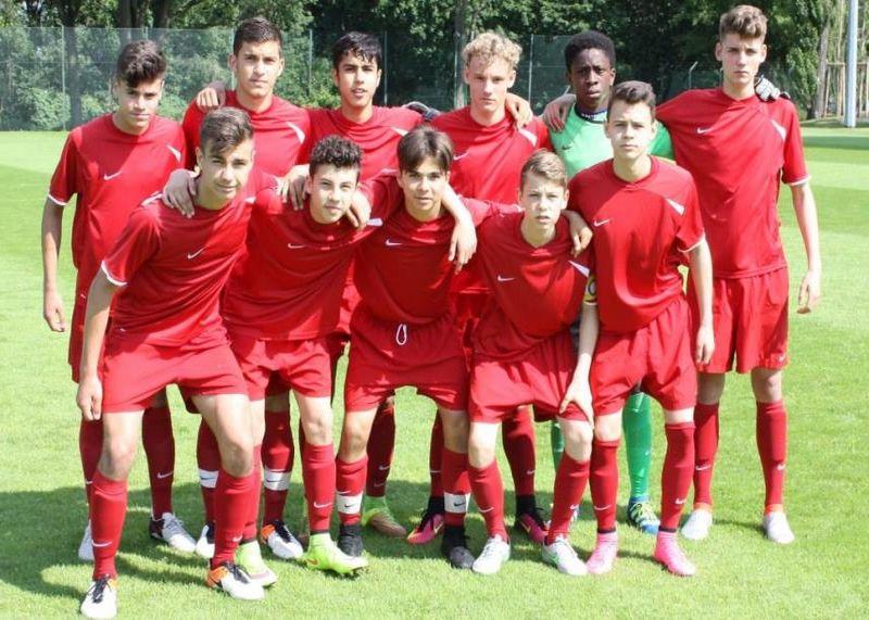 U15 Junioren Des Bfv Gegen U16 Nationalmannschaft Aus