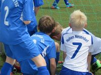 G-Jugendturnier beim DFB-Pokalfinale