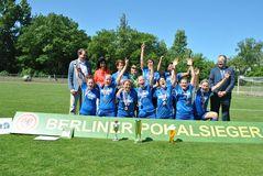 Pokalsiegerinnen bei den 7er Frauen: BW Hohen Neuendorf, Foto: K. Nicklas