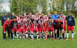 Die BFV-U16-Junioren kehrten mit einem hervorragenden 3. Platz vom DFB-Sichtungsturnier nach Hause, Foto: privat