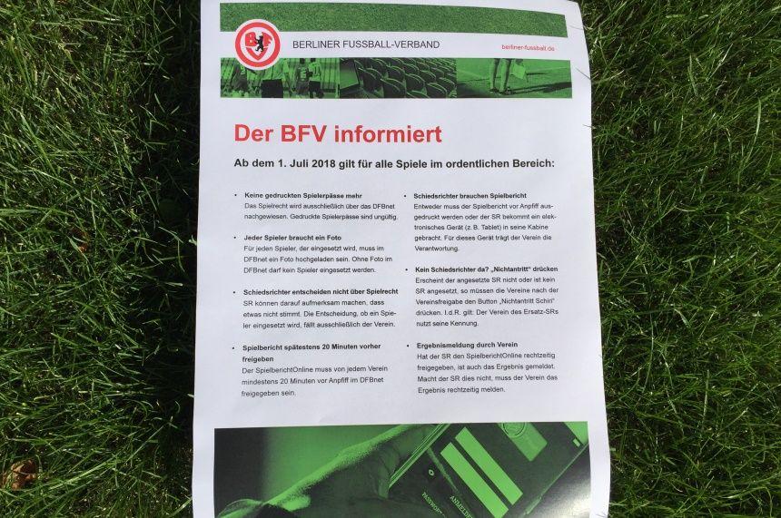 Plakat BFV