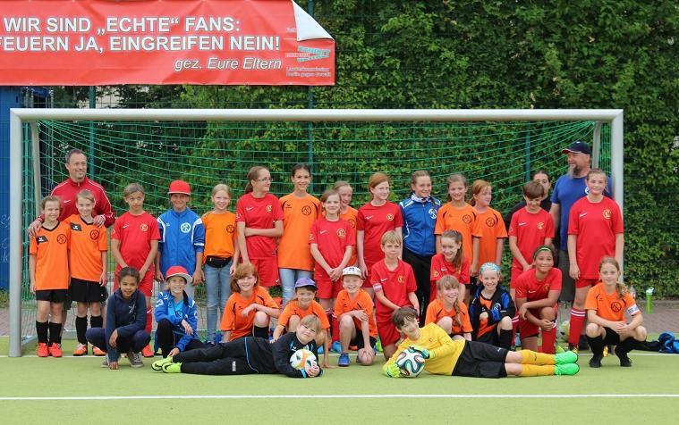 Berliner Freunde Frühstück - E-Jugend FFC Berlin 04 mit Lichtenberg 47; Foto: FFC Berlin 04