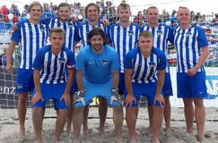 Hertha BSC 3.Platz Deutsche Beachsoccer Meisterschaften 2017, Foto: Hertha BSC