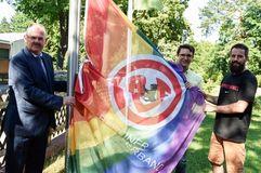 LSVD BFV Regenbogen Respect Gaymes