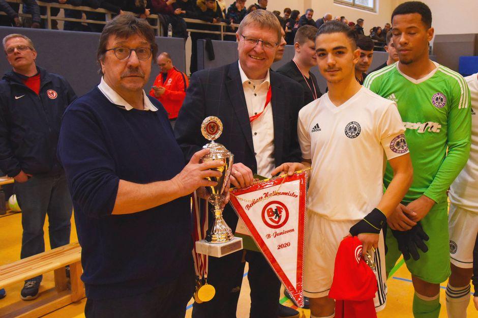BFV-Hallenmeister B-Junioren: Tennis Borussia