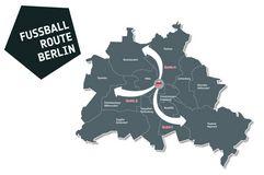 Erstes Teilstück der FUSSBALL ROUTE BERLIN eröffnet. Foto: Sport:Kultur e.V.