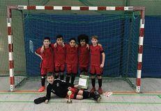 stolze Sieger im Rolf-Baertz-Pokalturnier: 2. E-Junioren vom 1. FC Wilmersdorf, Foto: privat