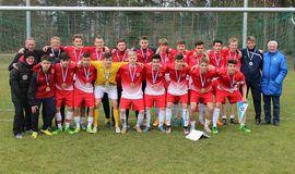 Titel erfolgreich verteidigt: Nach 2015 auch 2016 wurden Berlins U16-Junioren NOFV-Länderpokalsieger, Foto: privat
