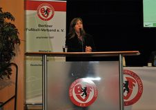 Seit dem Verbandstag ist Tanja Walther-Ahrens neues BFV-Präsidialmitglied für besondere Aufgaben. Foto: F. Rein