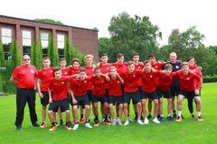 Berlins U15-Jahren kehrten mit einem guten 5. Platz vom DFB-Sichtungsturnier aus Duisburg zurück, Foto: privat