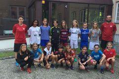 U12-Juniorinnen mit erstem Lehrgang der Saison und neuem Trainerteam, Foto: privat