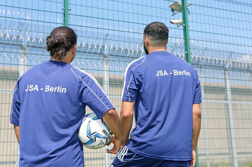 JVA Berlin BFV Sepp Herberger DFB Justizvollzug Fußball