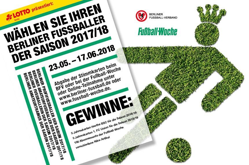 Wer Sind Die Fussballer Der Saison 2017 18 ǀ Berliner