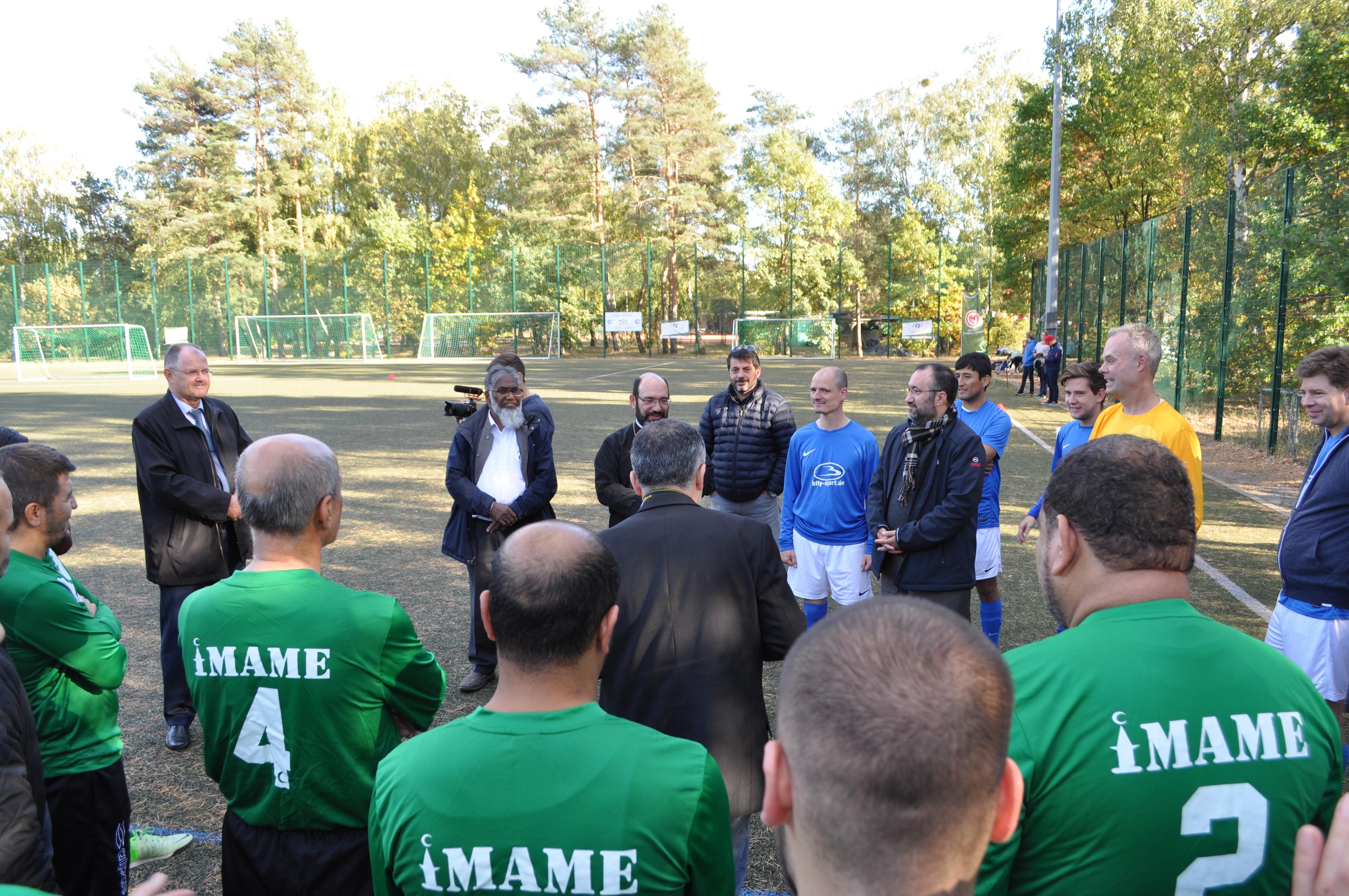 Pfarrer gegen Imame 2018 ǀ Berliner Fußball-Verband e  V