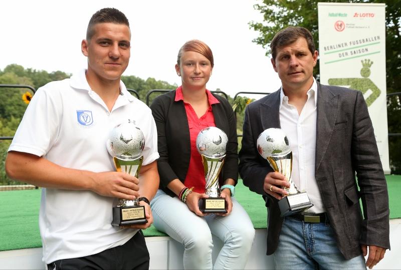 Berliner Amateurfussballer Und Fussballerin Der Saison 2015