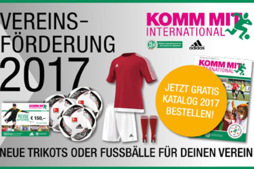 best sneakers 5eb00 e1379 Vereinsförderung 2017: Neue Trikots für deinen Verein ǀ ...