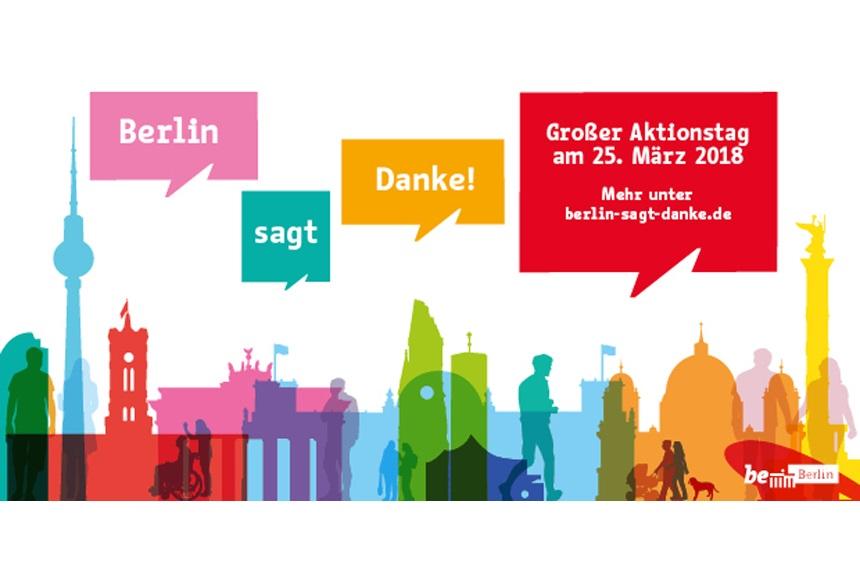 Einladung Zum Aktionstag Berlin Sagt Danke ǀ Berliner