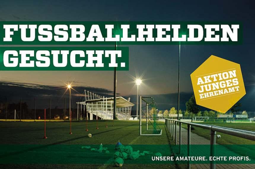 DFB BFV Ehrenamt Fussballhelden Ehrenamtspreis