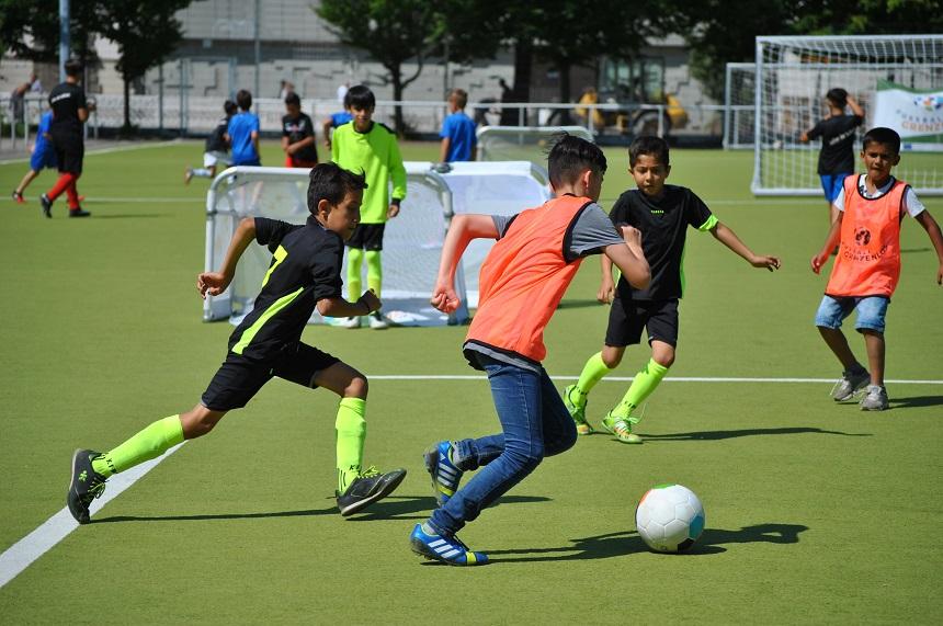 FUSSBALL GRENZENLOS; Flüchtlingsinitiative; BFV-Willkommensprojekt;