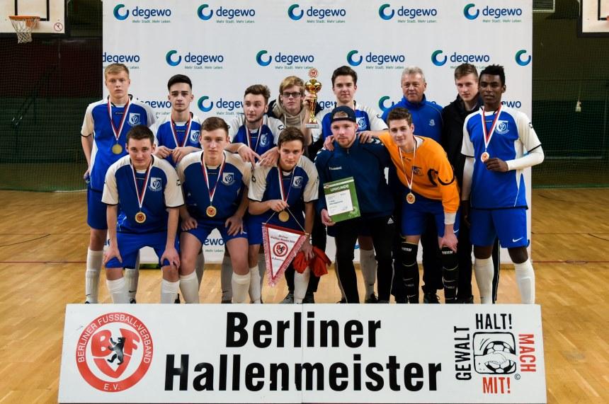 Vsg Altglienicke Gewinnt Bfv Hallenmeisterschaft ǀ Berliner