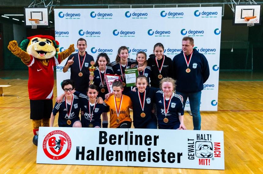 BFV-Hallenmeisterschaften degewo-Cup