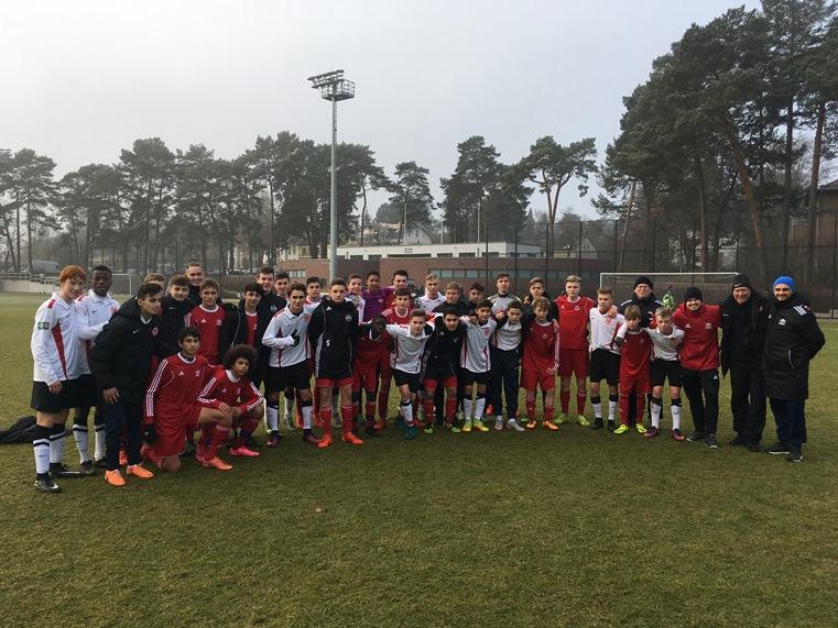 U15 Junioren Aus Hamburg Zu Gast In Berlin ǀ Berliner Fußball