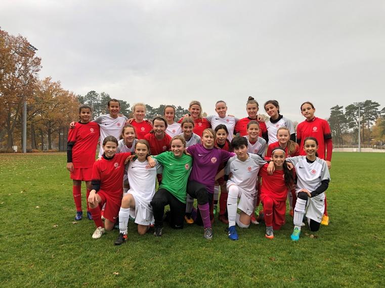 Nachsichtung Für U14 Juniorinnenauswahl ǀ Berliner Fußball Verband E V