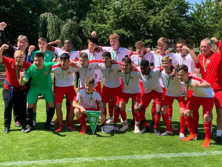 Bfv U15 Junioren Triumphieren In Duisburg ǀ Berliner Fussball