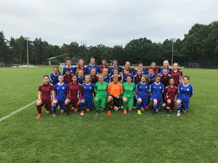 Bfv U18 Juniorinnen Gegen Mittelrhein ǀ Berliner Fußball Verband E V